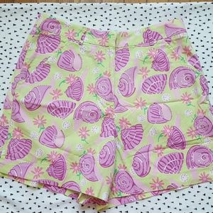 Lilly Pulitzer Snail Seashell Shorts